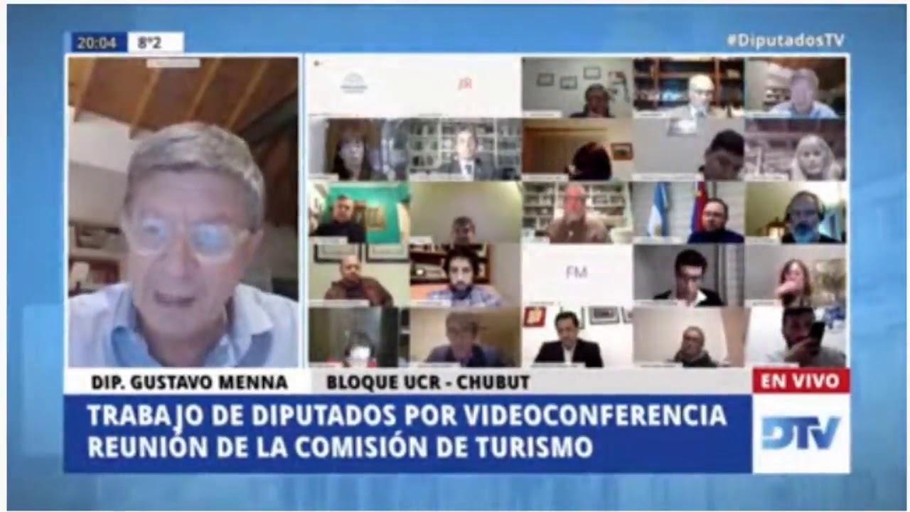 Intervención en la Comisión de Turismo de la Cámara de Diputados