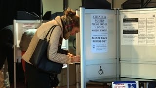 Voters in US capitol cast their ballots