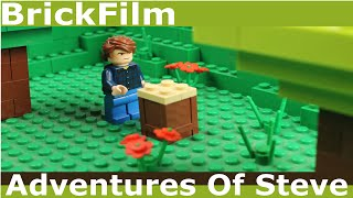 (Lego Minecraft Stop Motion) The Adventure Of Steve