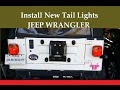 How to Install Jeep YJ Wrangler Tail Lights Omix-Ada