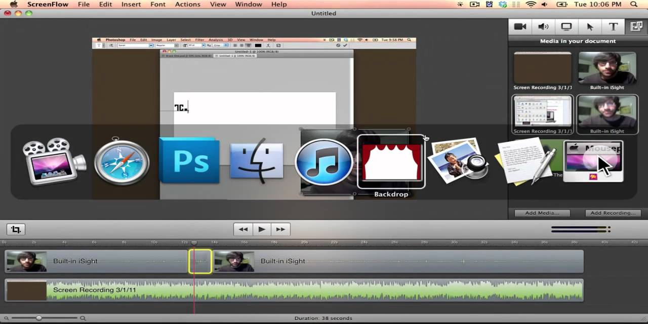 How to create a video on mac