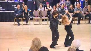 Maxence Martin and Melissa Rutz Strictly at Capital Swing february 2011