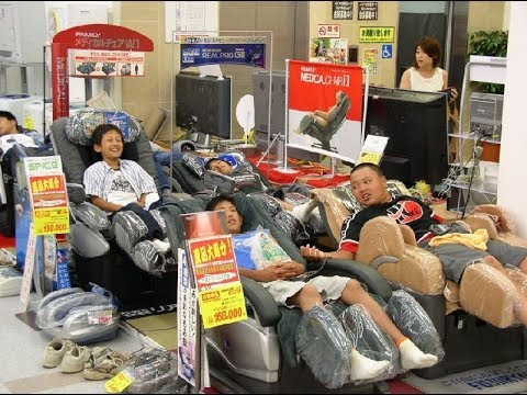 Massage Chairs In Japan Japanology