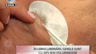 Laminarea de gene. Procedura 100% Bio  exclusiv la Tabya Eyelashes