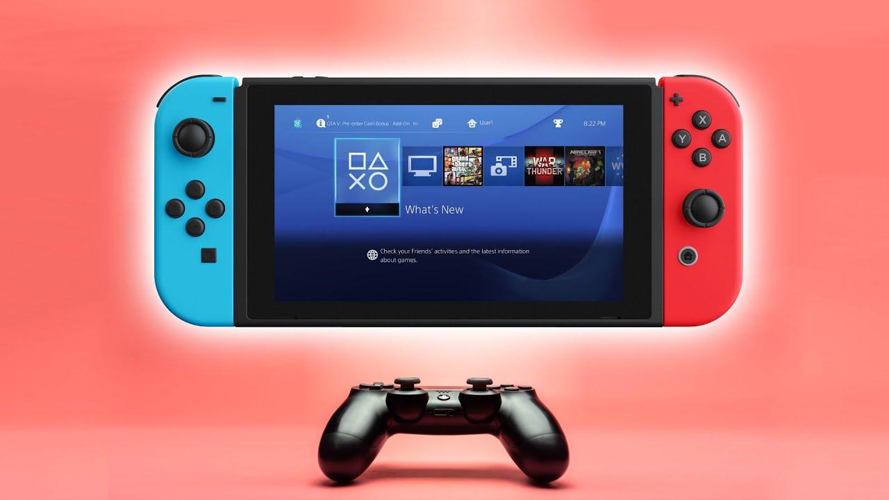 Παίξτε οποιοδήποτε game του PS4 στο Nintendo Switch!