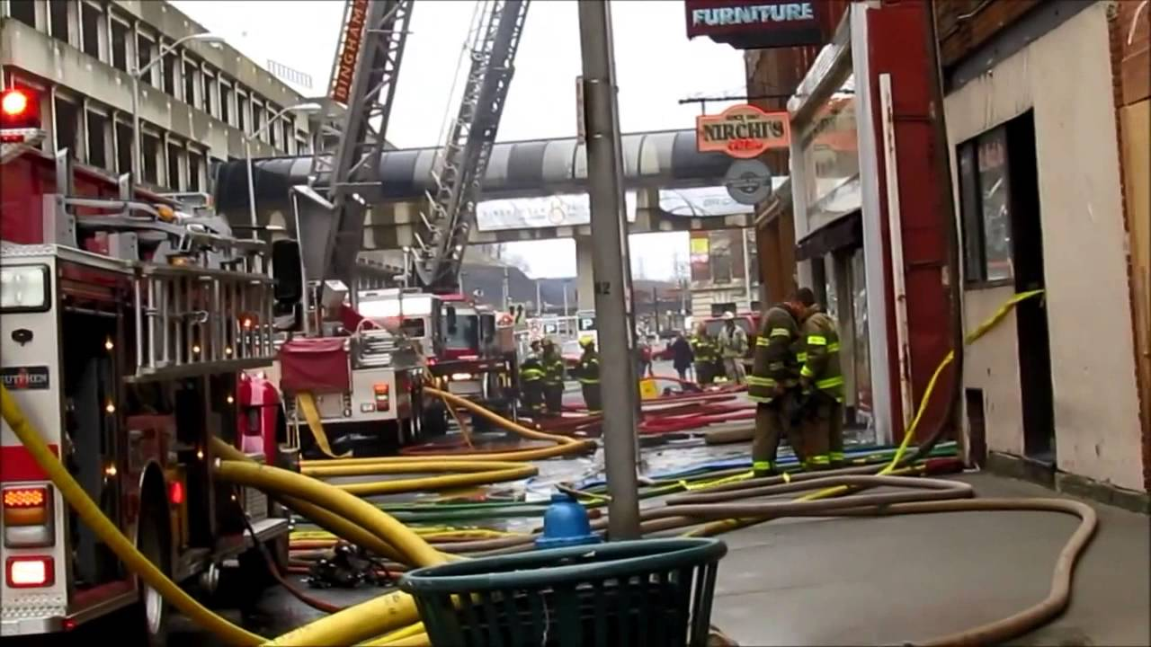 Ellis Brothers Furniture Store Fire