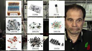 EB_#90 Kit de Composants Électroniques pour Débutant p1: La Base de la Base...
