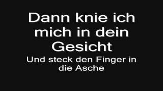 Rammstein - Asche Zu Asche (lyrics) HD