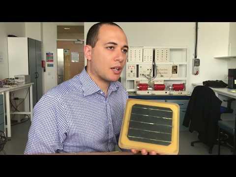 Solar tile for Qatar World Cup 2022