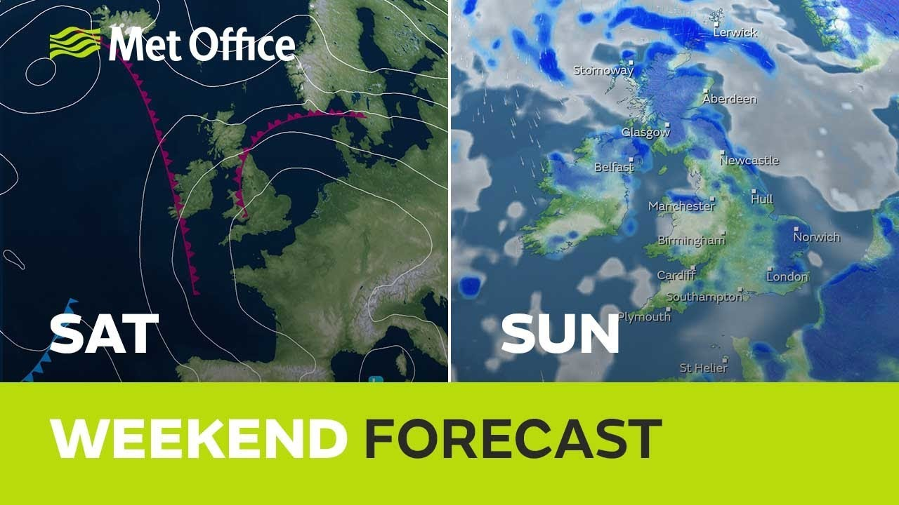 Weekend weather – Will the sunshine last this weekend? - YouTube