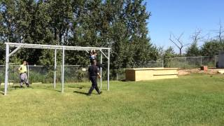 Edmonton Police Service Obstacle Course