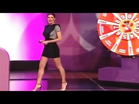 Sanja Kuzet Beautiful Serbian Weather Girl 24.12.2012