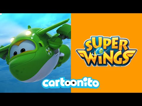 Super Wings | Lost Bagpipes | Cartoonito