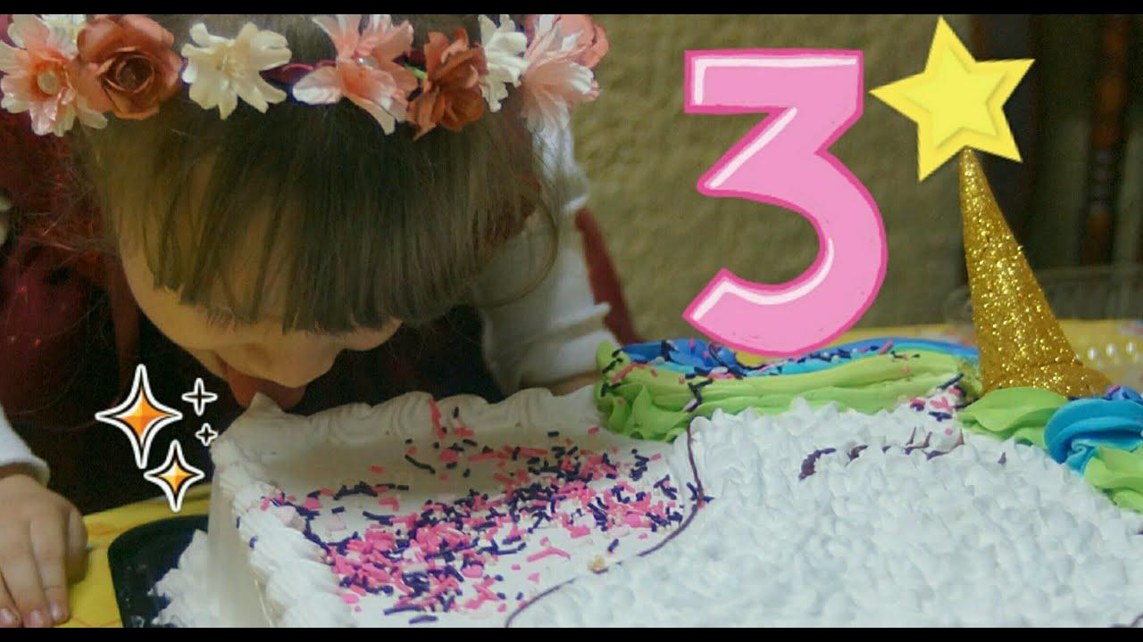 Cumpleaños 3 de Michelle