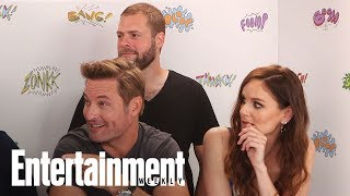 Colony Season 3 Josh Holloway, Sarah Wayne Callies & Tory Kittles | SDCC 2017 | Entertainment Weekly