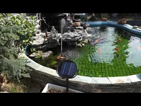 The Best Solar Water Fountain For Outdoor Pond