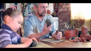 Уроки лепки с Анатолием Утробиным /Лепка из глины/Лепка с детьми