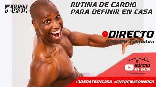 RUTINA DE ARDIO EN CASA PARA DEFINICION MUSCULAR