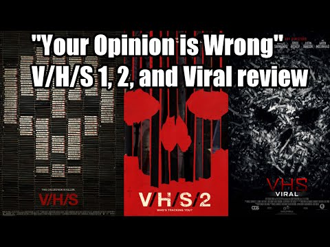 Your Opinion is Wrong: V/H/S review
