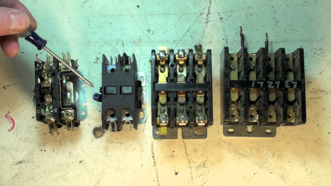 Ac Blower Wiring Hvac Contactor Configuration Part 4 Youtube