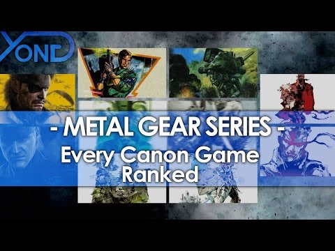 Every Canon Metal Gear Game Ranked