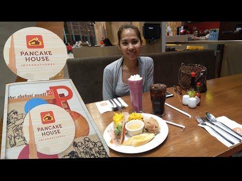 Dinner at Pancake House International, Dubai Mall, Dubai, United Arab Emirates (UAE)| دبي