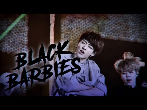 BLACK BARBIES — JUNGKOOK