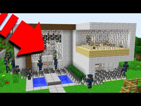 ISMETRG'NİN EVİ HAPİSHANE OLDU! 😱 - Minecraft