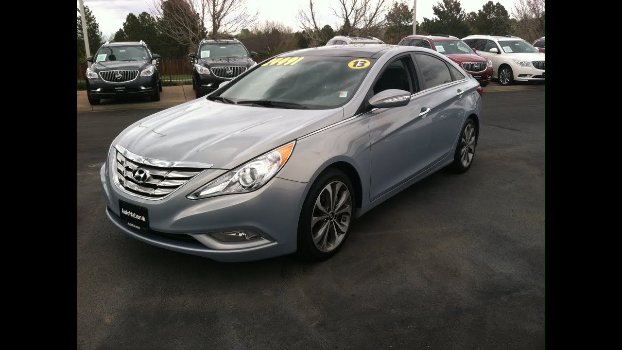 2013 Hyundai Sonata 2.0T Limited (Start Up, In Depth Tour, And Review)    YouTube