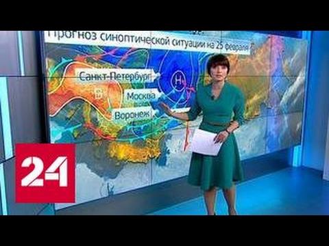 """""""Погода 24"""": российские города покроются льдом"""