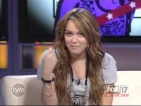 Hannah Montana The Movie Cast Tyra Banks Show Pt 1