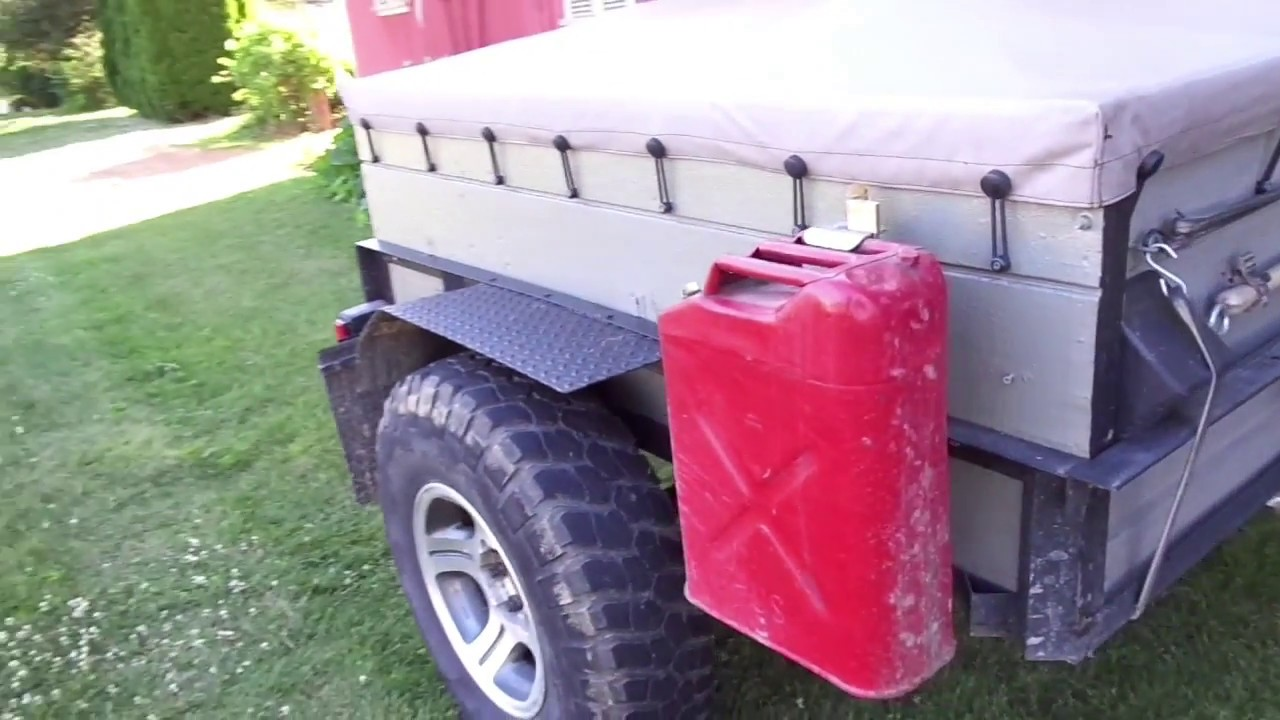 off road trailer build exterior youtube