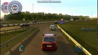 3D Instructor City Drive simulator Gameplay PC HD (highway)