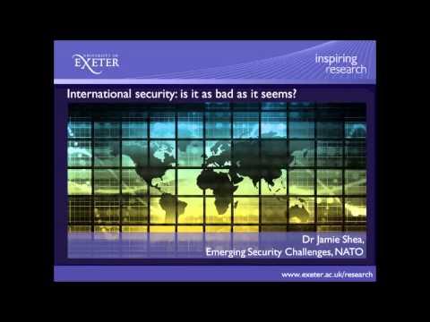 International security: is it as bad as it seems?