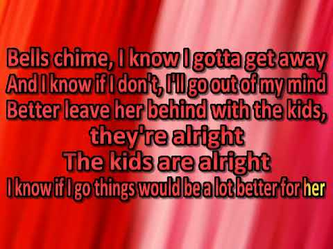 The Who   The Kids Are Alright [karaoke]