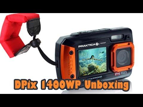 Praktica DPix 1400WP - Selfie Cam Unboxing