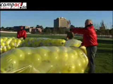 Campact Ballonaktion