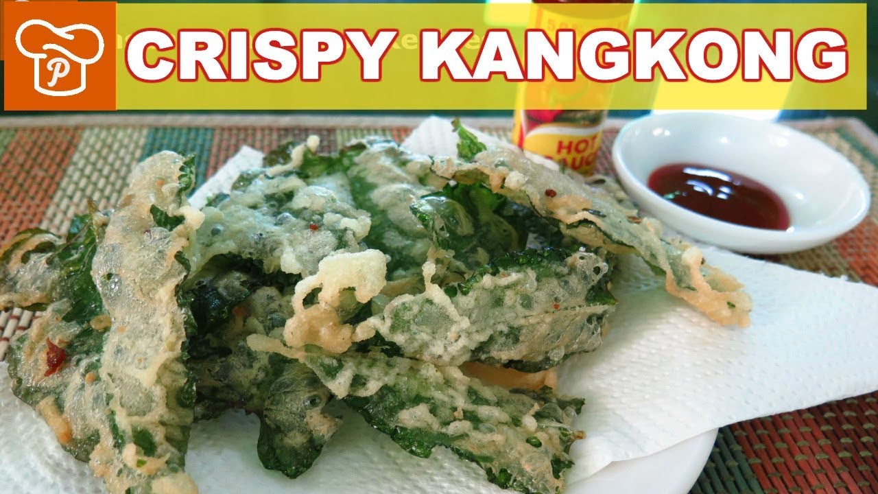 How To Cook Crispy Kangkong Pinoy Easy Recipes Youtube