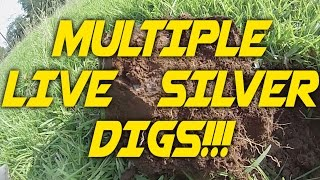 Multiple Live Silver Digs, Quick Evening Hunt, Dig That Beep!!!