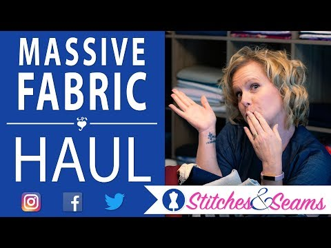Biggest Sewing Fabric Haul To Date!