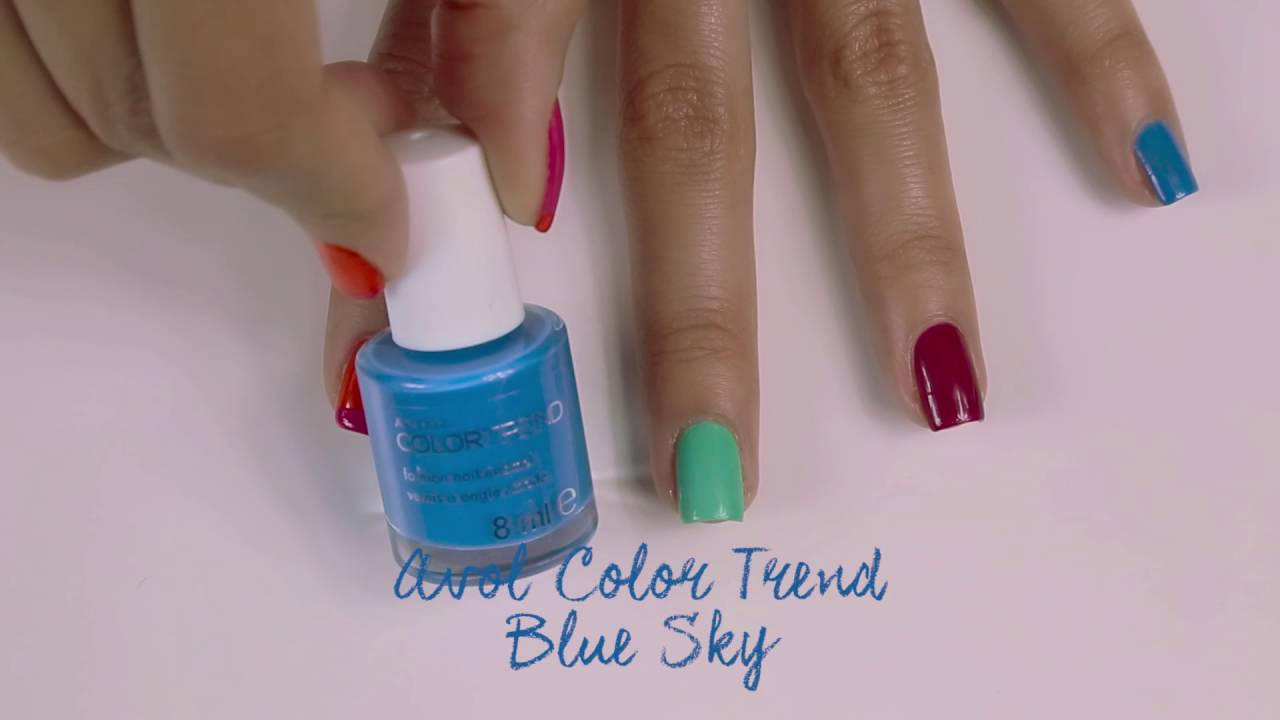 Avon Color Trend Nail Art