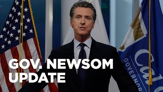 Gov. Newsom gives CA COVID-19 update -- WATCH LIVE