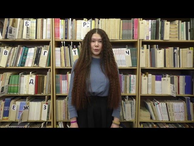 Изображение предпросмотра прочтения – АннаПьянкова читает произведение «Девушка пела в церковном хоре» А.А.Блока