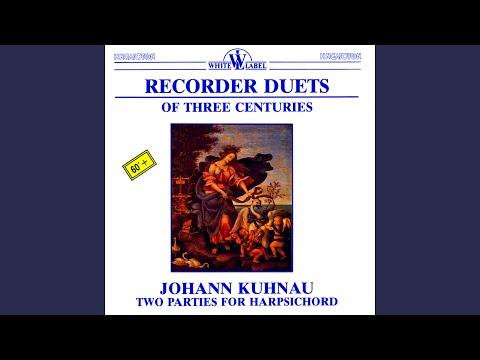 Sonata in C Minor (originally in A Minor) TWV 40.125: Moderato