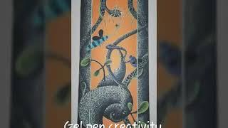 Creative  Jel pen art