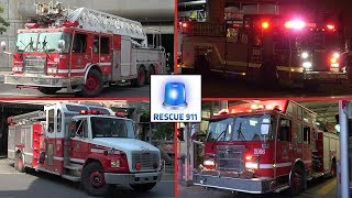 Montreal Fire Services - Part 7 // Service Incendie Montreal (compilation)