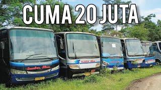 BORONG BUS BEKAS MURAH BANGET, EX PO SUMBER ALAM!!