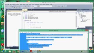 Connect Microsoft SQL Server with Microsoft Visual Studio