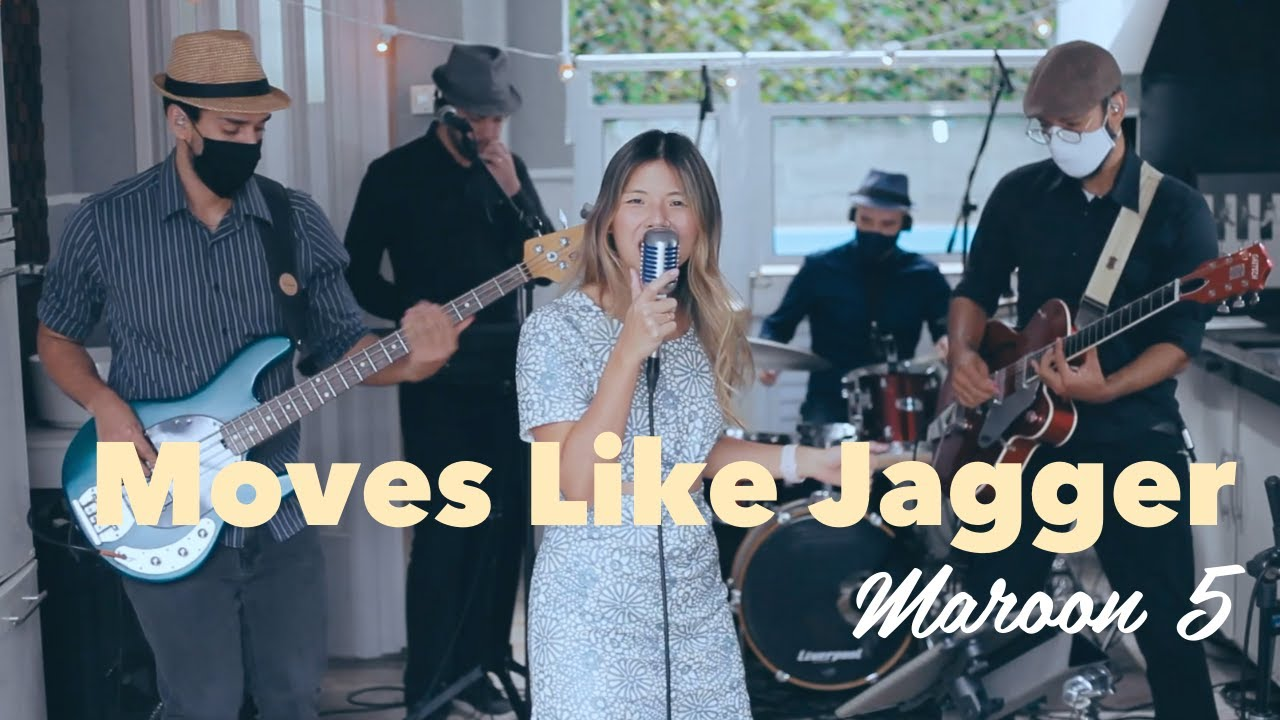 Moves like Jagger - Banda Chocolate Quente (live CNA)