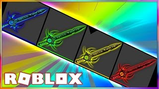 UNBOXING SO MANY EXOTIC KNIVES IN ASSASSIN!   Roblox